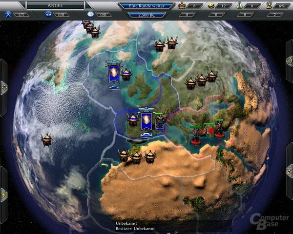 Weltansicht von Empire Earth 3