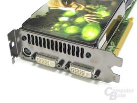 GeForce 8800 GTS 512 Slotblech