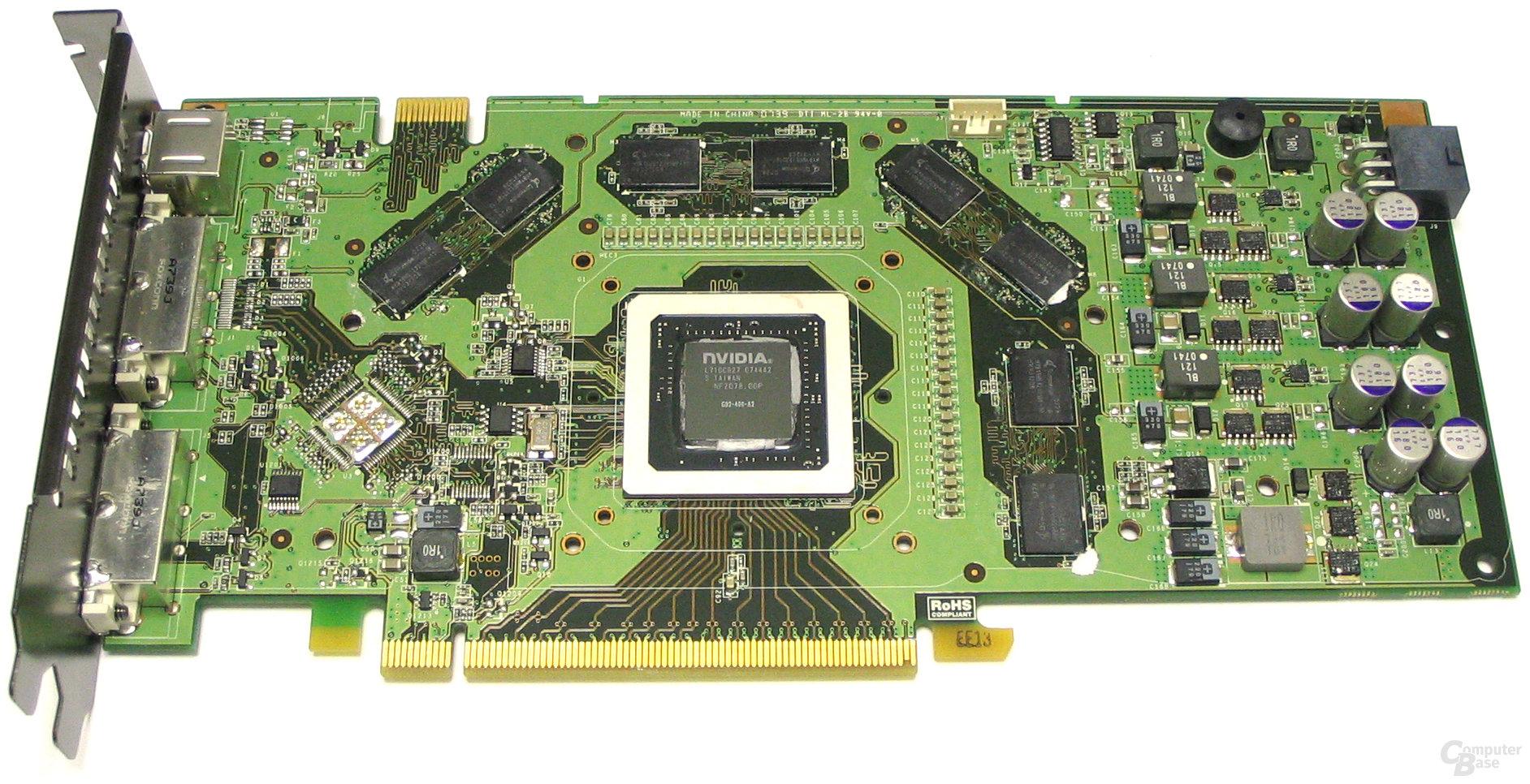 GeForce 8800 GTS 512 ohne Kühler