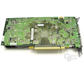 GeForce 8800 GTS 512 Rückseite