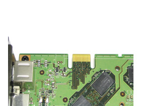 GeForce 8800 GTS 512 SLI-Anschluss