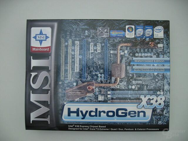 MSI HydroGen X38, m. Zusatzhülle
