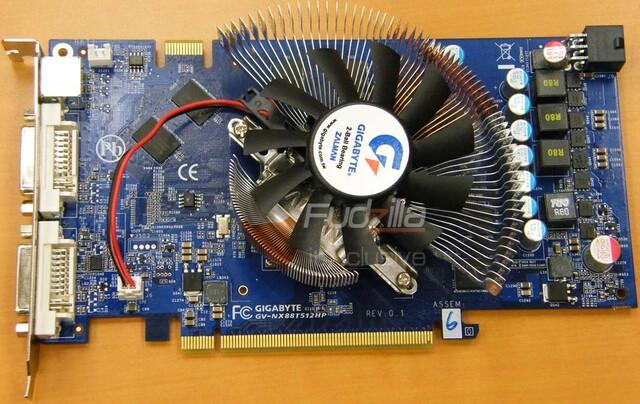 Gigabyte GeForce 8800 GT (GV-NX88T512HP)