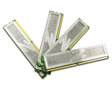 OCZ DDR2 PC2-6400 Platinum Edition 8 GB Quad Kit (4x2GB)