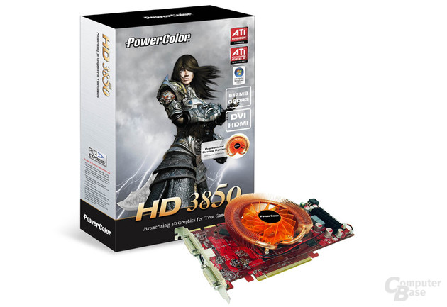 PowerColor HD 3850 PCS 512 MB GDDR3