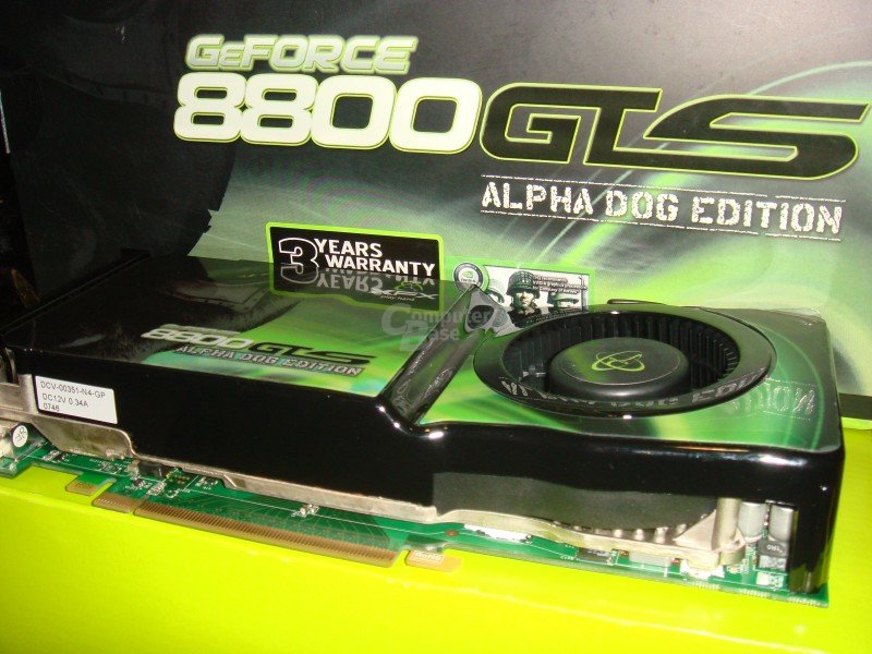 XFX GeForce 8800 GTS (G92) Alpha Dog Edition
