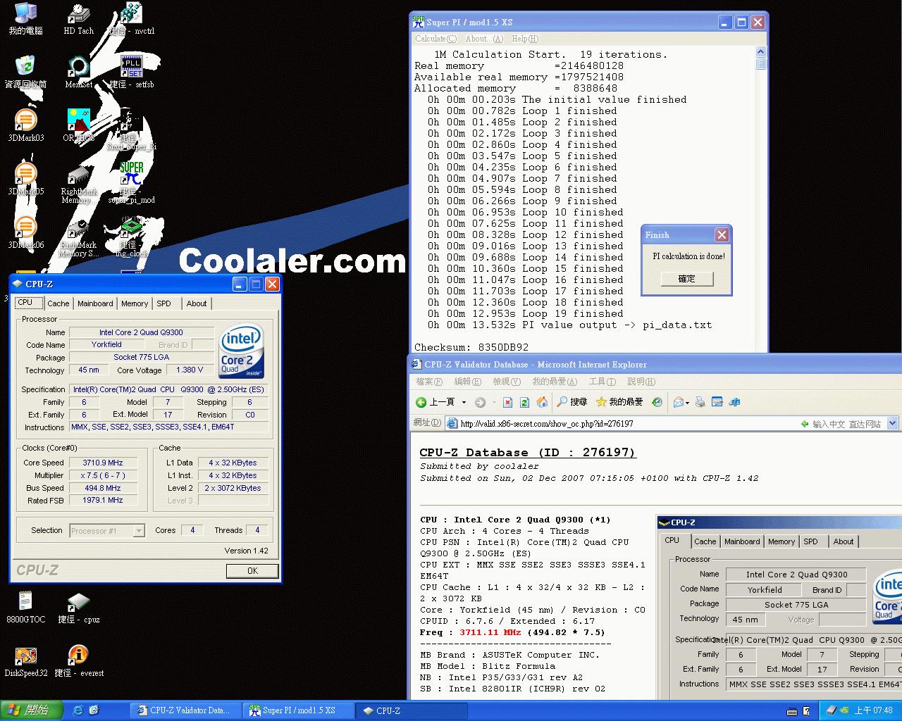 Q9300 @ 3,71 GHz