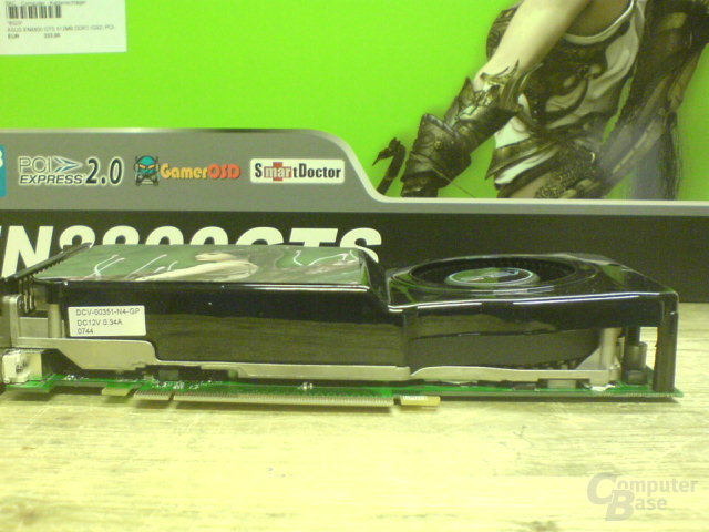 Asus GeForce 8800 GTS 512 MB