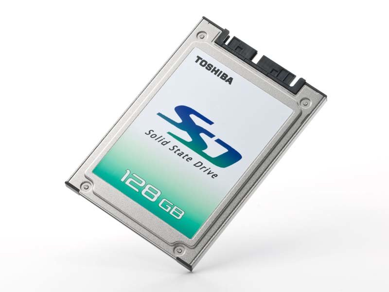 Toshiba Solid State Disk mit 128 GB