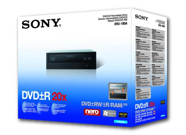 Sony NEC Optiarc DRU-190A