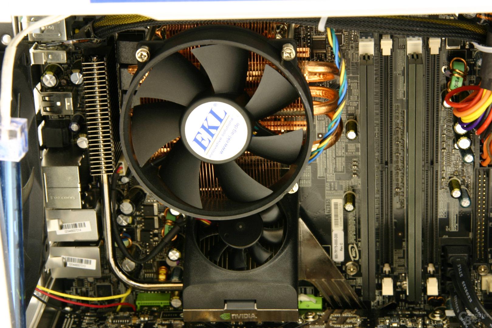 Atelco 3-Way-SLI-PC CPU-Kühler