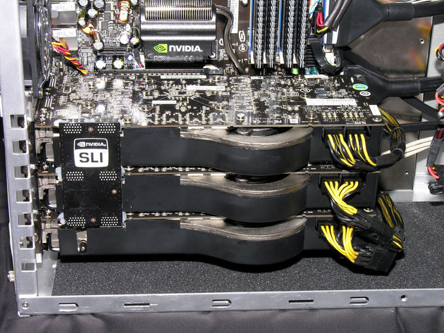 Triple-SLI-System | Quelle: FiringSquad