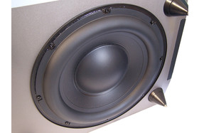 Tieftonchassis des Subwoofers