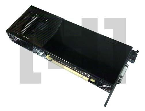 Angebliches Design von Nvidias GeForce 9800 GX2 von hinten