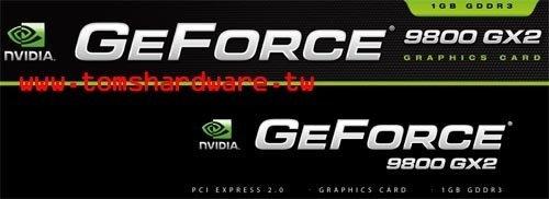 Logo GeForce 9800 GX2
