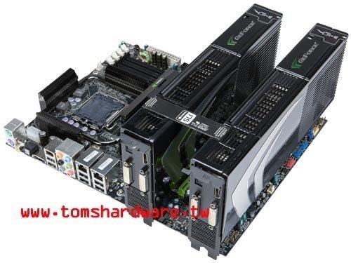 Angebliches Design von Nvidias GeForce 9800 GX2