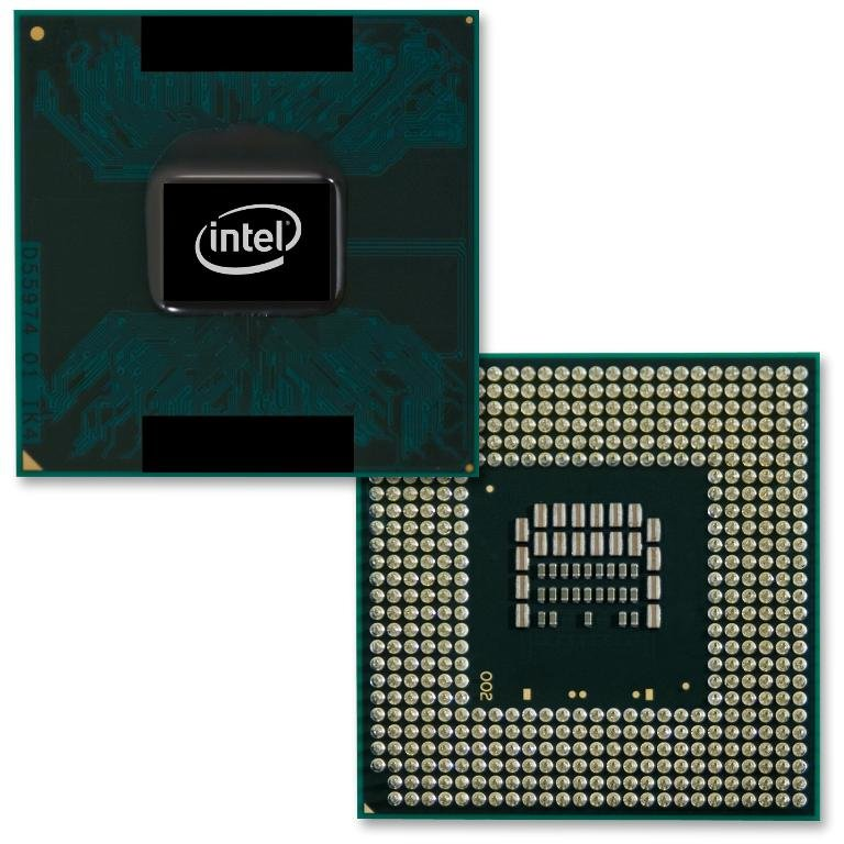 Intel Core 2 Duo mit 45 nm Penryn-Architektur