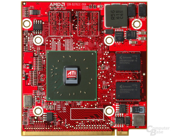 ATi Mobility Radeon HD 3450 mit RV620 auf MXM-Modul