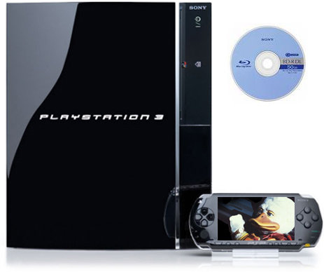 Blu-Ray Transfer zwischen PS3 und PSP