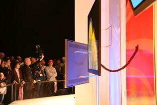 Neue, dünne Plasma-Bildschirme