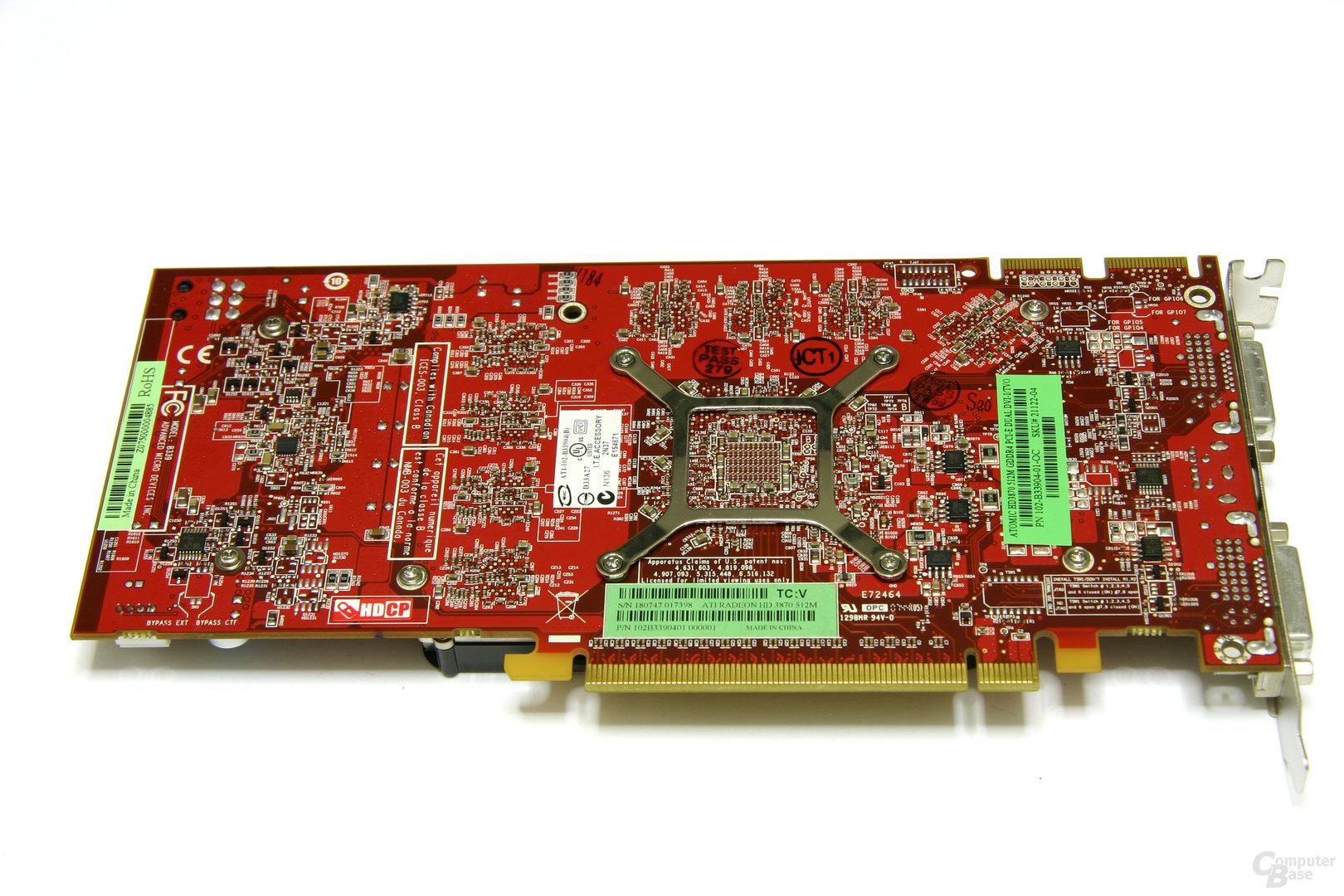 Atomic HD 3870 Rückseite
