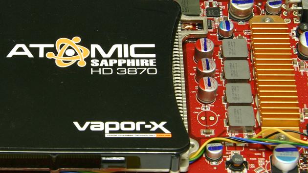 Sapphire Atomic Radeon HD 3870 im Test: Mit Individualität auf Kundenfang