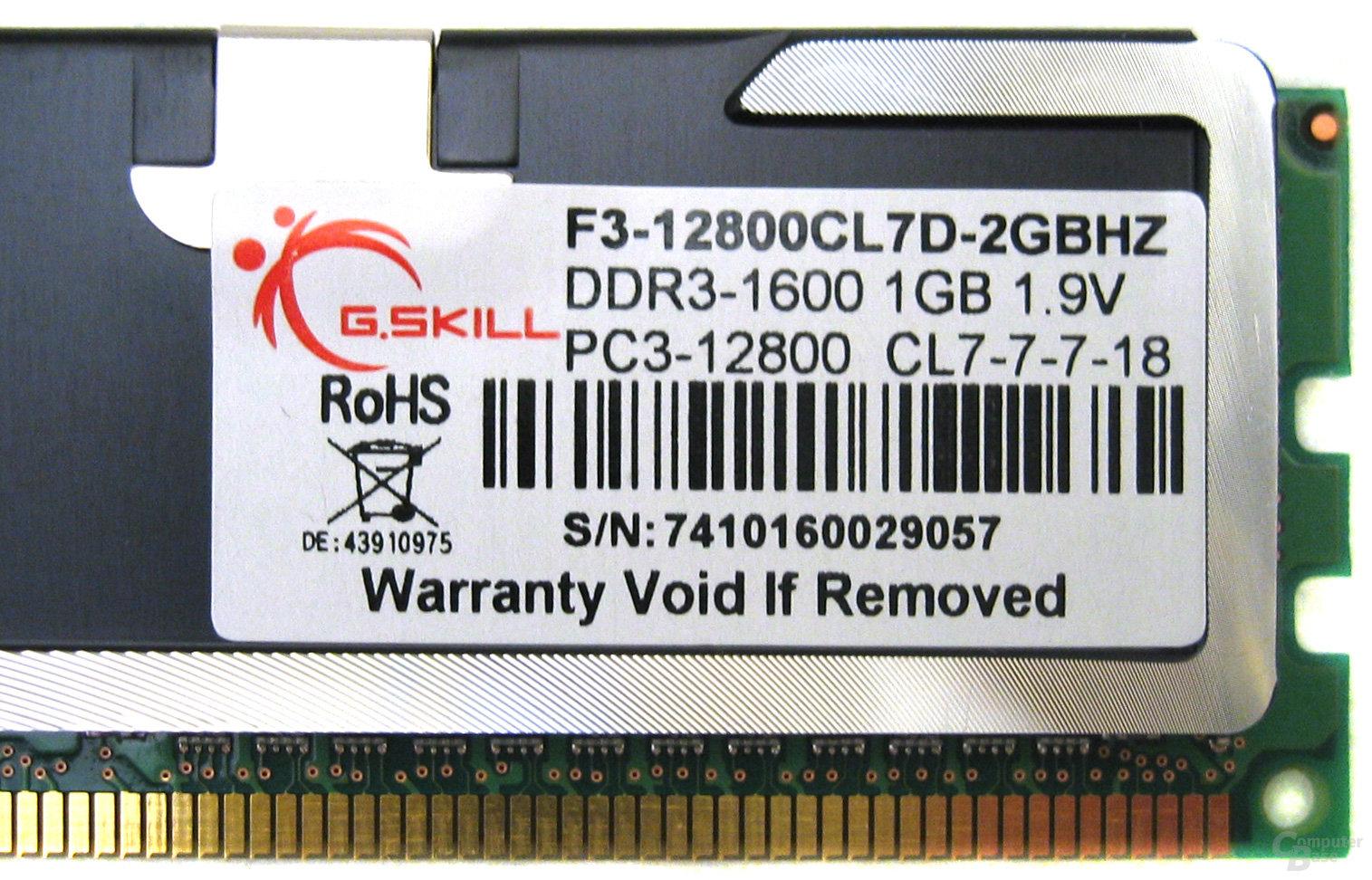 G.Skill DDR3-1600