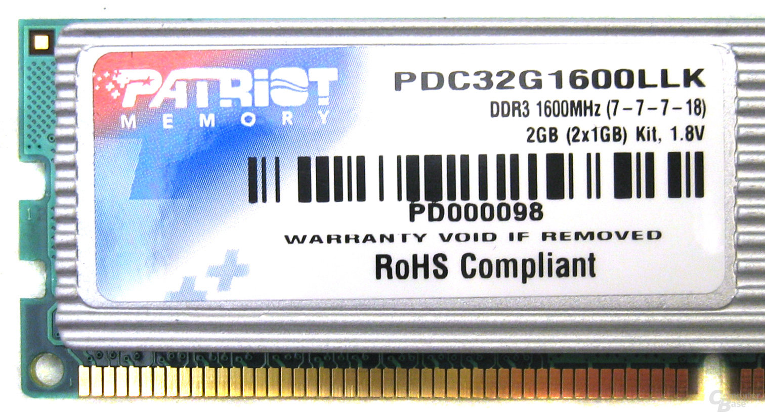 Patriot DDR3-1600
