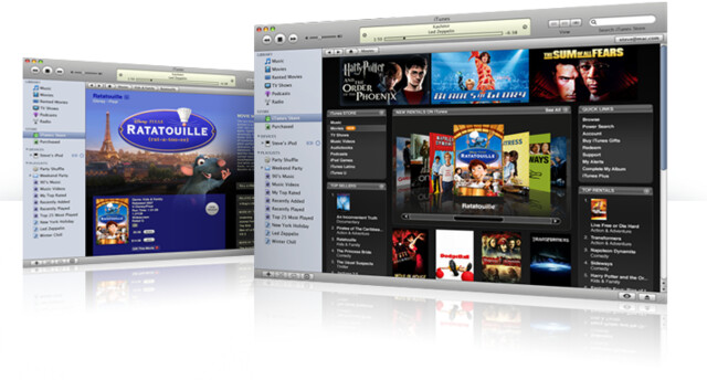 Apple iTunes Movie Rental
