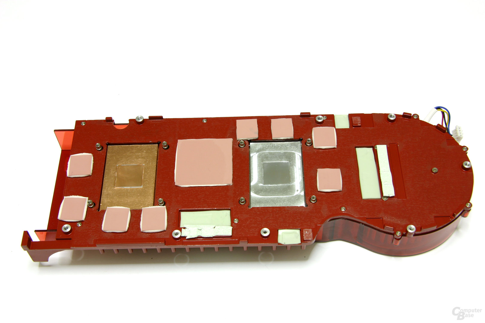 Radeon HD 3870 X2 Kühlerrückseite