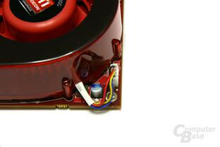 Radeon HD 3870 X2 Lüfteranschluss
