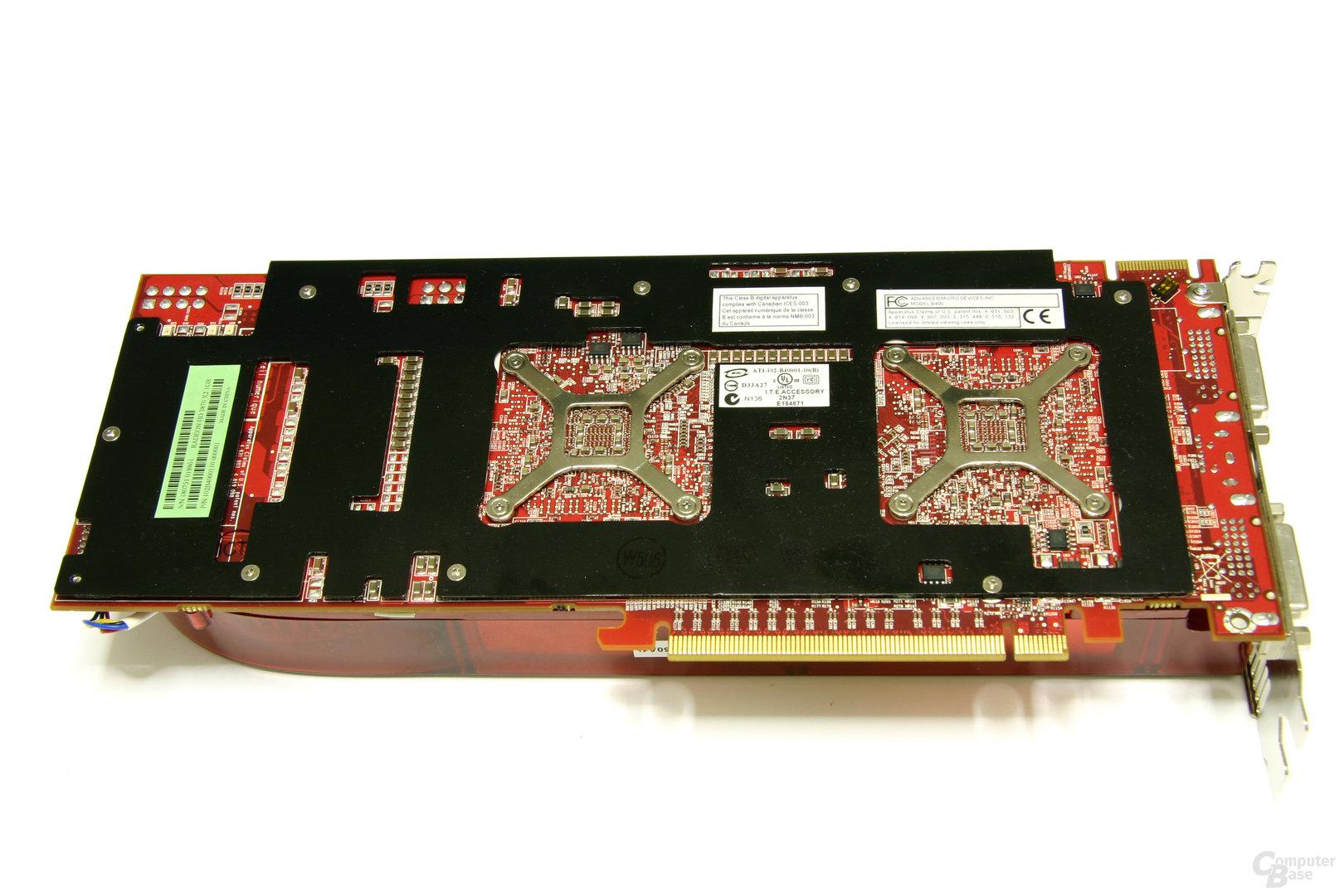 Radeon HD 3870 X2 Rückseite