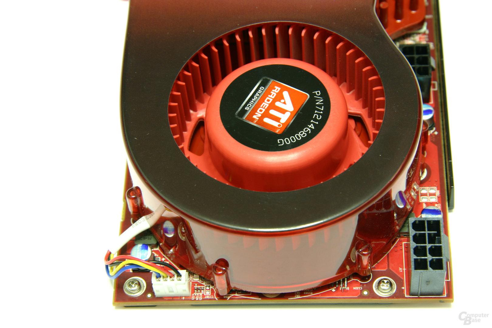 Radeon HD 3870 X2 Spannungswandler