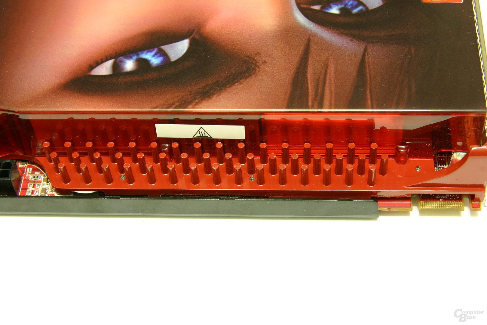 Radeon HD 3870 X2 Speicherkühler