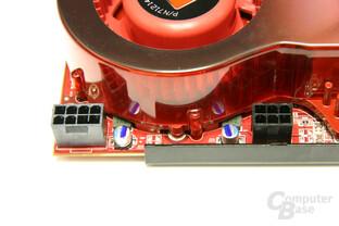 Radeon HD 3870 X2 Stromanschlüsse
