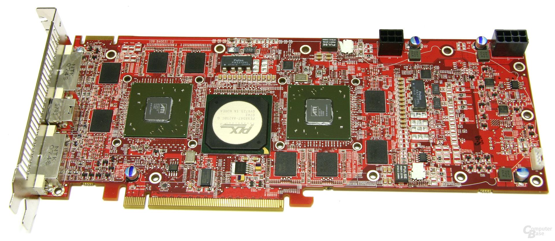 Radeon HD 3870 X2 ohne Kühler