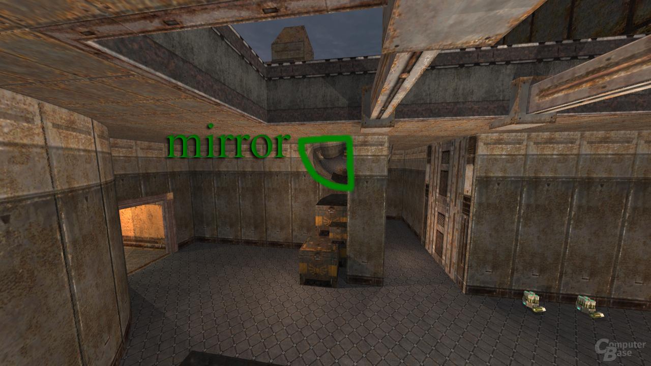Spiegel in Quake 3 mittels Raytracing