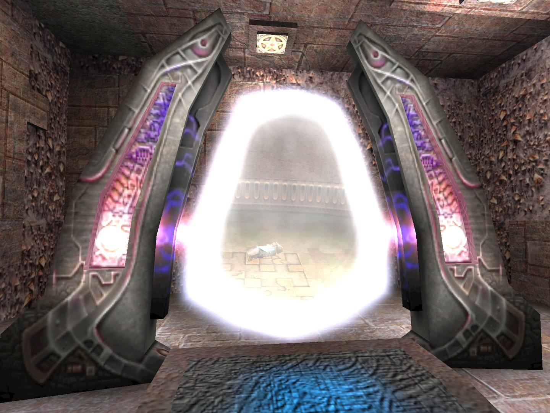 Kameraportal in Quake 3: Arena (1999)