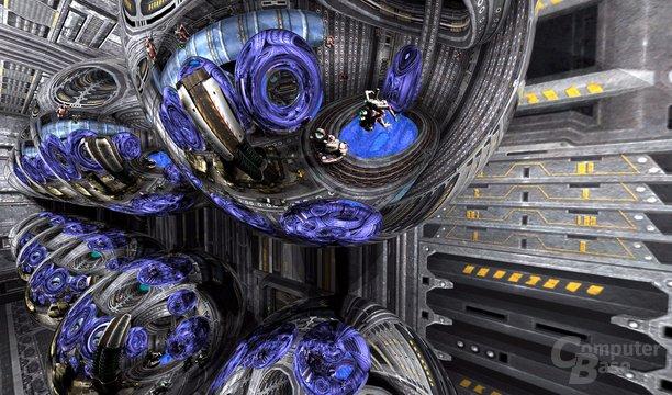 Spiegelungen in Quake 4 – 3. Ebene