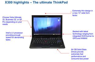 Lenovo Thinkpad X300 – Quelle Gizmodo.com