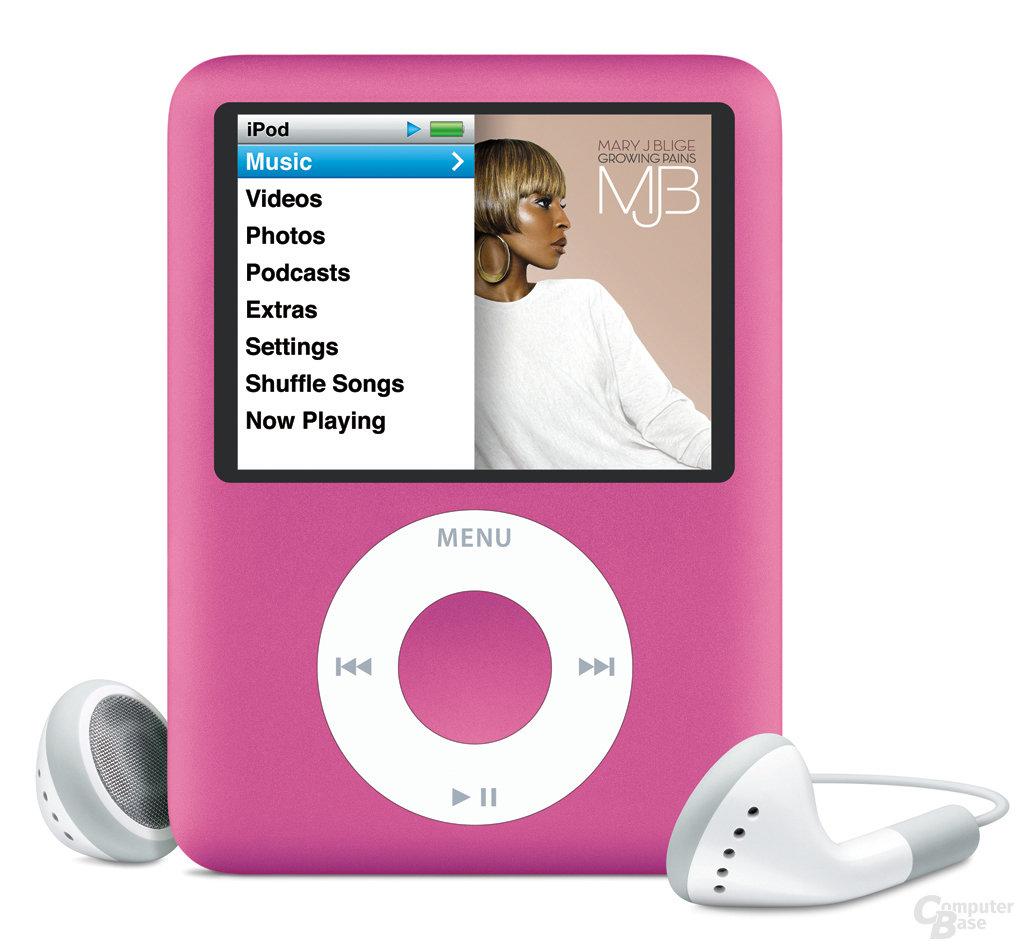 Apple iPod nano pink (Generation 3.)
