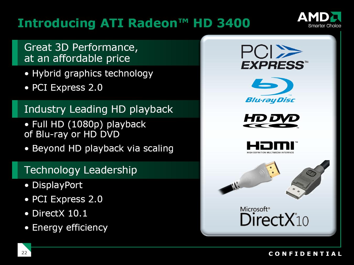 ATi Radeon HD 3400 (RV620)
