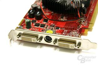 PC Radeon HD 3650 Slotblech