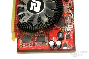 PC Radeon HD 3650 Spannungswandler