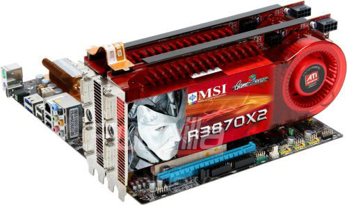 MSI Radeon 3870 X2