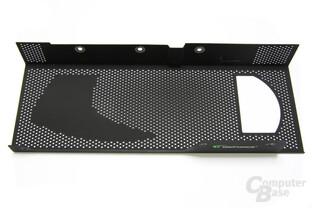 GeForce GTX 295 Kühlerabdeckung
