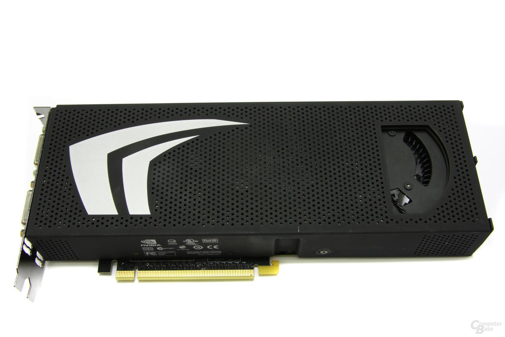 GeForce GTX 295 Oberseite