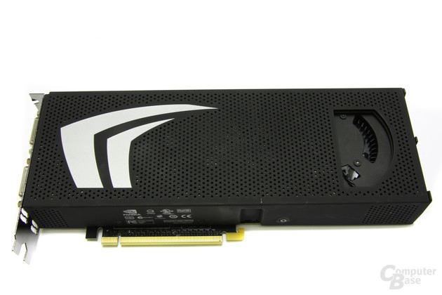 GeForce GTX 295 Oberseite