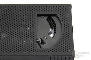 GeForce GTX 295 Lüfterausschnitt