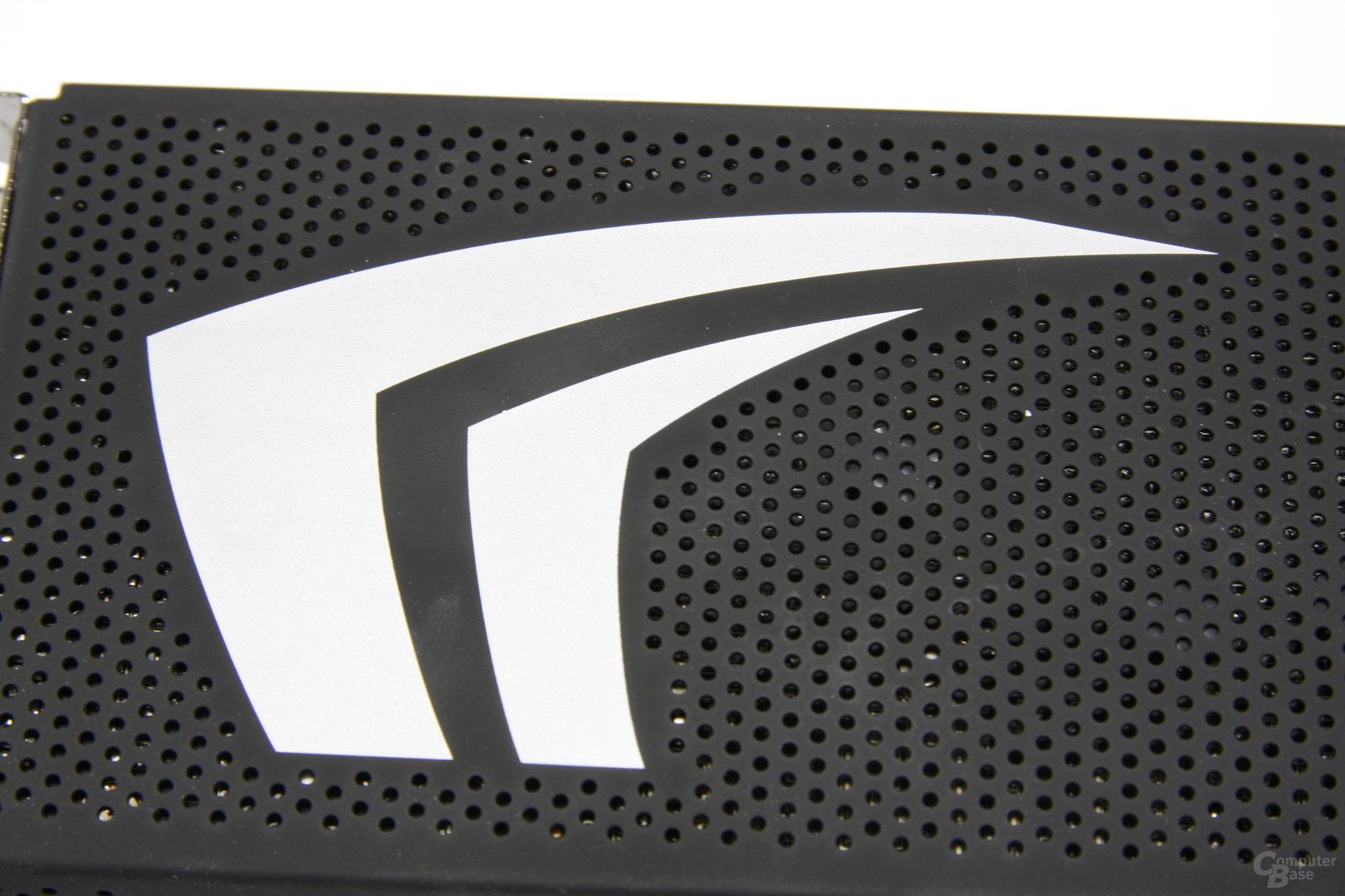 GeForce GTX 295 Kühlerdetail